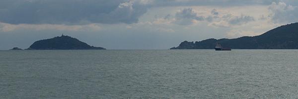 Isola Del Tino in Barca a vela
