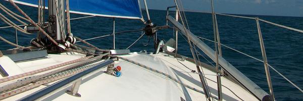Weekend in barca a vela